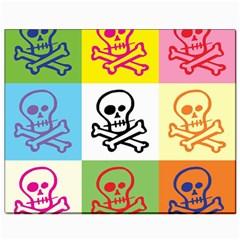 Skull Canvas 8  X 10  (unframed) by Siebenhuehner