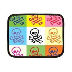 Skull Netbook Sleeve (Small) by Siebenhuehner