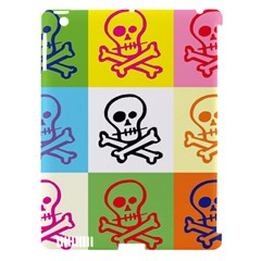 Skull Apple Ipad 3/4 Hardshell Case (compatible With Smart Cover)