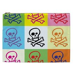 Skull Cosmetic Bag (XXL) by Siebenhuehner