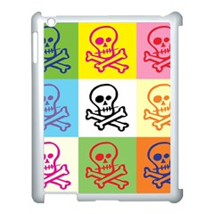 Skull Apple Ipad 3/4 Case (white) by Siebenhuehner
