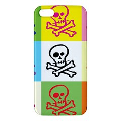 Skull Apple Iphone 5 Premium Hardshell Case by Siebenhuehner