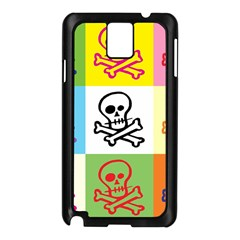Skull Samsung Galaxy Note 3 N9005 Case (black) by Siebenhuehner