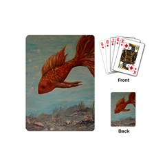 Gold Fish Playing Cards (mini) by rokinronda