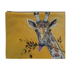 Giraffe Treat Cosmetic Bag (xl)