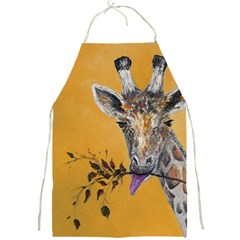 Giraffe Treat Apron by rokinronda