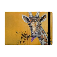 Giraffe Treat Apple Ipad Mini Flip Case by rokinronda