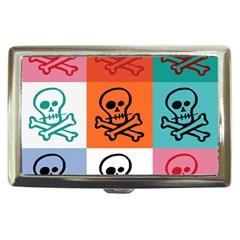 Skull Cigarette Money Case by Siebenhuehner