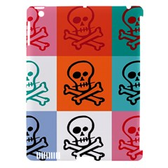 Skull Apple Ipad 3/4 Hardshell Case (compatible With Smart Cover) by Siebenhuehner