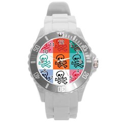 Skull Plastic Sport Watch (large) by Siebenhuehner