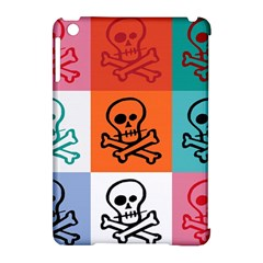 Skull Apple Ipad Mini Hardshell Case (compatible With Smart Cover) by Siebenhuehner