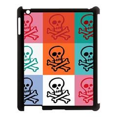 Skull Apple Ipad 3/4 Case (black) by Siebenhuehner
