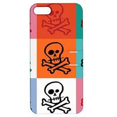 Skull Apple Iphone 5 Hardshell Case With Stand by Siebenhuehner