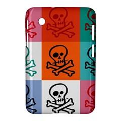 Skull Samsung Galaxy Tab 2 (7 ) P3100 Hardshell Case  by Siebenhuehner