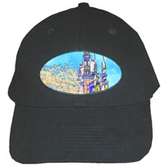 Castle For A Princess Black Baseball Cap by rokinronda