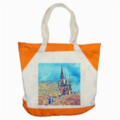 Castle For A Princess Accent Tote Bag by rokinronda
