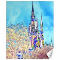 Castle For A Princess Canvas 16  X 20  (unframed)