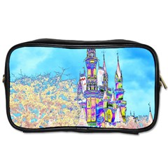 Castle For A Princess Travel Toiletry Bag (one Side) by rokinronda