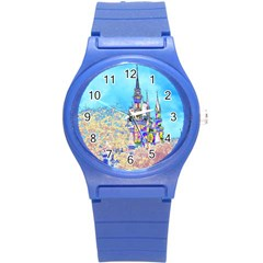 Castle For A Princess Plastic Sport Watch (small) by rokinronda