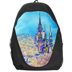 Castle For A Princess Backpack Bag by rokinronda