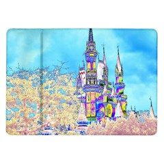 Castle For A Princess Samsung Galaxy Tab 10 1  P7500 Flip Case