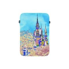 Castle For A Princess Apple Ipad Mini Protective Sleeve by rokinronda