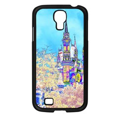 Castle For A Princess Samsung Galaxy S4 I9500/ I9505 Case (black) by rokinronda