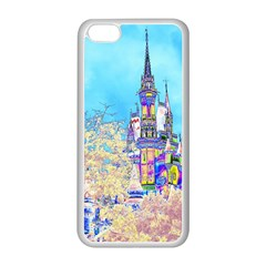 Castle For A Princess Apple Iphone 5c Seamless Case (white) by rokinronda