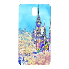 Castle For A Princess Samsung Galaxy Note 3 N9005 Hardshell Back Case by rokinronda