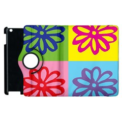 Flower Apple Ipad 3/4 Flip 360 Case by Siebenhuehner