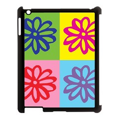 Flower Apple Ipad 3/4 Case (black) by Siebenhuehner