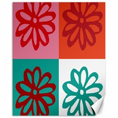 Flower Canvas 16  X 20  (unframed) by Siebenhuehner
