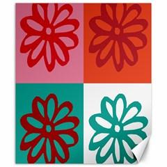 Flower Canvas 20  X 24  (unframed) by Siebenhuehner