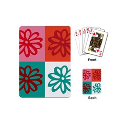 Flower Playing Cards (mini) by Siebenhuehner