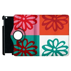 Flower Apple Ipad 2 Flip 360 Case by Siebenhuehner