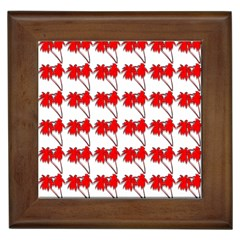 Palm Tree Pattern Vivd 3d Look Framed Ceramic Tile by CrypticFragmentsColors