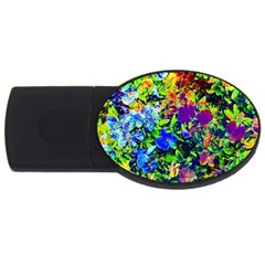 The Neon Garden 2gb Usb Flash Drive (oval)