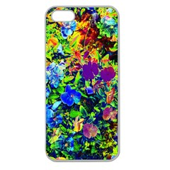 The Neon Garden Apple Seamless Iphone 5 Case (clear) by rokinronda