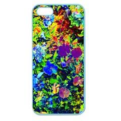 The Neon Garden Apple Seamless Iphone 5 Case (color) by rokinronda