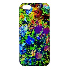 The Neon Garden Apple Iphone 5 Premium Hardshell Case by rokinronda