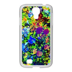 The Neon Garden Samsung Galaxy S4 I9500/ I9505 Case (white) by rokinronda