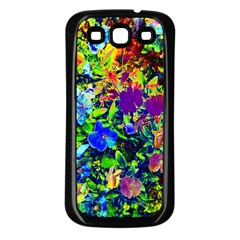 The Neon Garden Samsung Galaxy S3 Back Case (black) by rokinronda