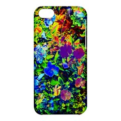 The Neon Garden Apple Iphone 5c Hardshell Case by rokinronda