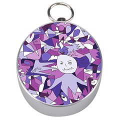 Fms Confusion Silver Compass by FunWithFibro
