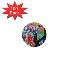 Prague Graffiti 1  Mini Button (100 Pack) by StuffOrSomething