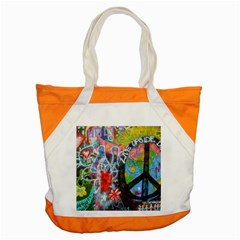 Prague Graffiti Accent Tote Bag by StuffOrSomething