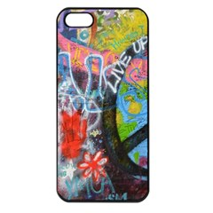 Prague Graffiti Apple Iphone 5 Seamless Case (black) by StuffOrSomething