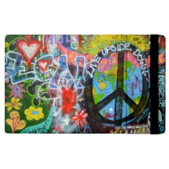 Prague Graffiti Apple Ipad 2 Flip Case by StuffOrSomething