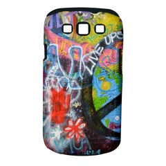 Prague Graffiti Samsung Galaxy S Iii Classic Hardshell Case (pc+silicone) by StuffOrSomething