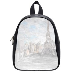 Eiffel Tower Paris School Bag (small) by rokinronda